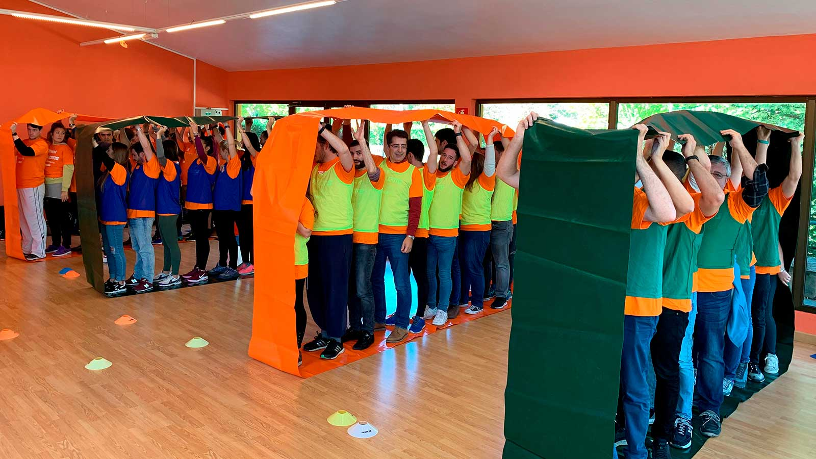 communication activity within Walmeric's Team Building